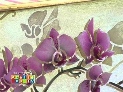 Stencil OPA - 12.03.15 - Mayumi Takushi - Orquídea Phalaenopsis
