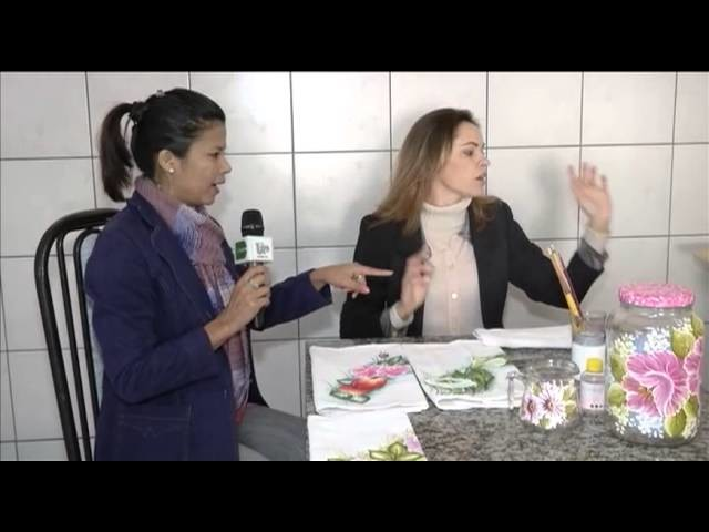 """TV UP. Programa Marta Costa - O FUXICO Pintura em Vidros """"""""Parte 01"""""""""""