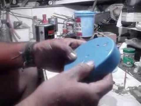 Video aula molde em Borracha de silicone