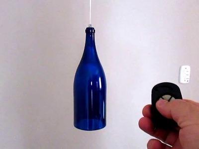 Automação Residencial + Reciclagem de Garrafa = Pendente de luz