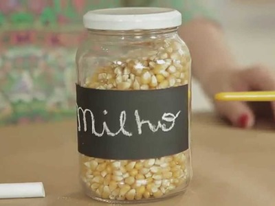 Cinco em 1 de Organização | 2º Episódio - Potes de conserva (Canning jars)