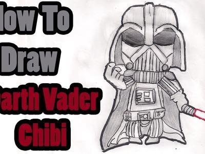 Como Desenhar Darth Vader Chibi