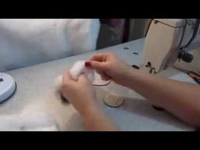 Como faz o cachorrinho na toalha de bebê( completo)