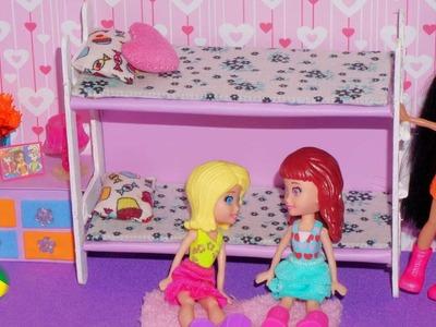Como fazer beliche para mini boneca (Polly, Princesas, Lalaloopsy etc)