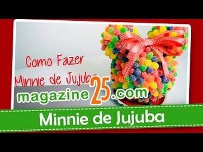 Como Fazer Minnie de Jujuba