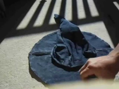 Como fazer um chapeu de pano pp (parte 2)