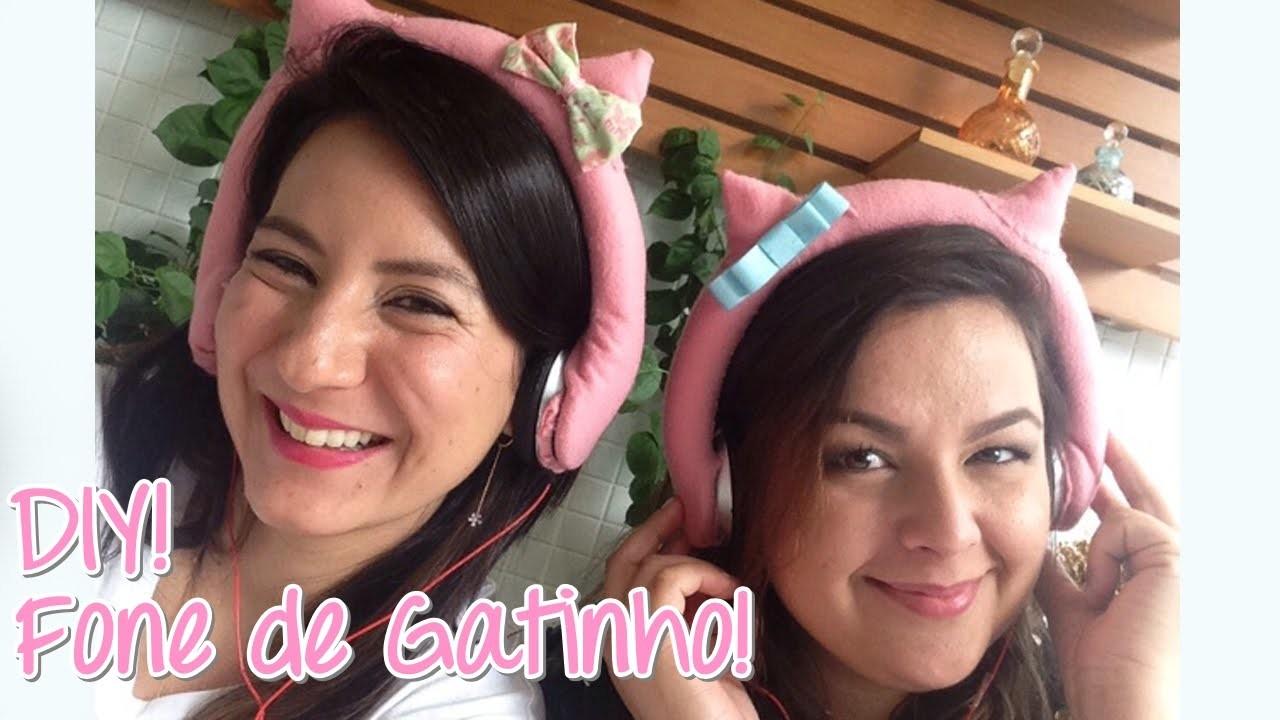 Customize Headfone de Ouvido Grande, tipo Hello Kitty - wFashionista