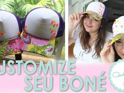 DIY Boné Personalizado - wFashionista