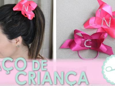 DIY Laço estilo Criança. Cheerleader Americano - wFashionista