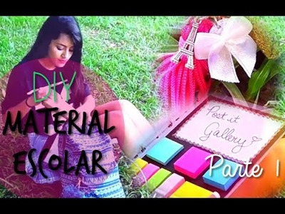 ✂ DIY: MATERIAL ESCOLAR 2016 | DIY SCHOOL SUPPLIES | Raisa Oliveira