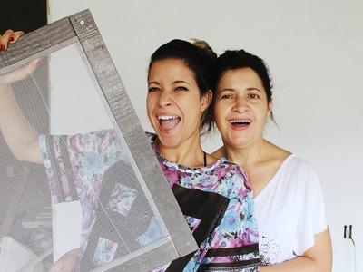 DIY:  TELA DE PROTEÇÃO P. JANELA CONTRA MOSQUITOS.INSETOS