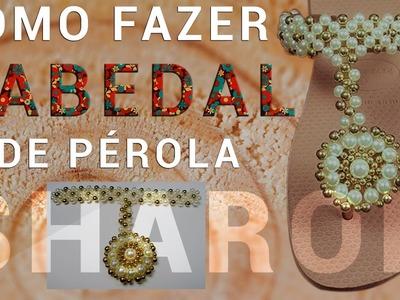 """Flor de Pérola """"Passo a Passo"""" (2° Parte) CABEDAL # Criação Propria"""