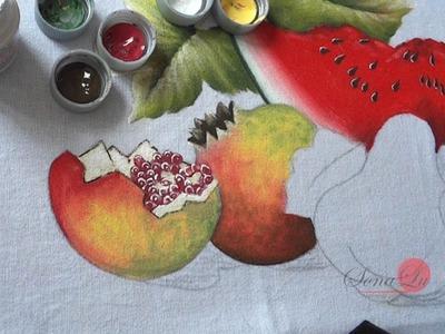 Frutas em Tecido (Aula 48. Parte1)