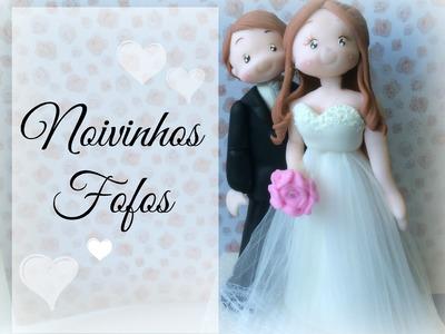 Laura Biscuit - Casal de Noivinhos fofos (com molde)