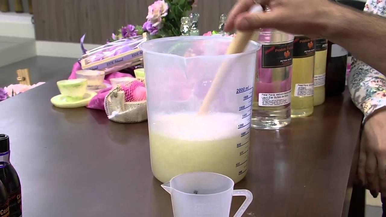 Mulher.com - 11.08.2015 - Sabonete líquido primavera - Peter Paiva PT1