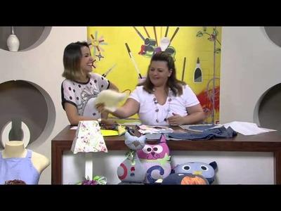 Reciclagem Jeans Velho 1.2 VIVI PRADO - Programa Mulher.com (15.03.2013)
