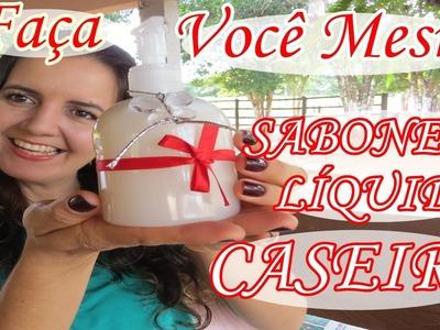 SABONETE LÍQUIDO CASEIRO - Receita super fácil com Fran Adorno