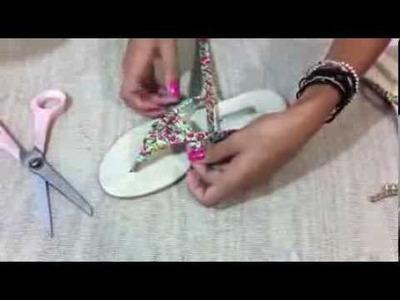 Sandália Personalizada (Como Fazer?)