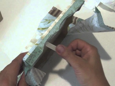 Video Aula: Decoupage com Guardanapo | Livia Fiorelli | LifeArtesanato
