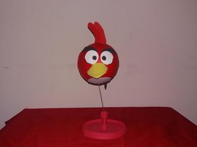 Angry  birds RED enfeite para aniversario