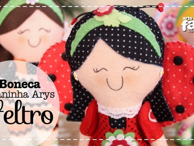 Boneca Joaninha Arys (Vanessa Iaquinto)