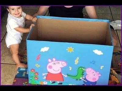 Caixa de brinquedos: como fazer uma