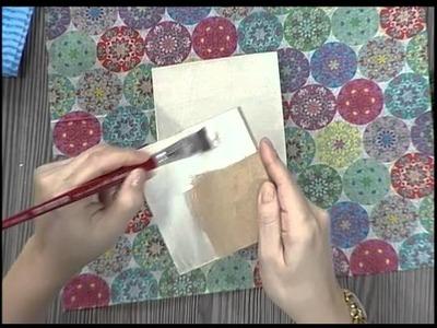 Como fazer um decoupage em madera simples - 1a parte
