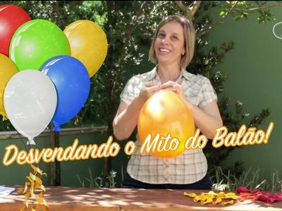 Desvendando o mito do balão! E ensinando a maneira correta de enche-los. #lilianruas
