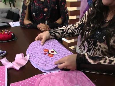 Mulher.com 02.05.2014 Regina Silva - Bolsa bebê patch Parte 1.2