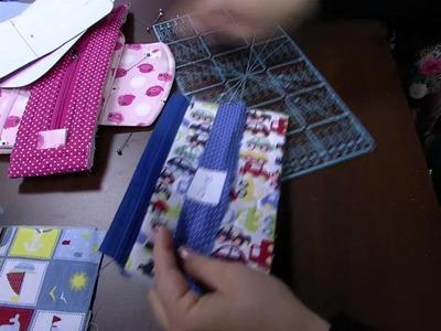 Mulher.com 08.07.2015 Regina Heitor - Bolsa necessarie porta remédios Parte 1.2