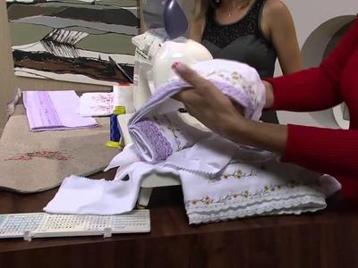 Mulher.com 18.04.2013 Cissa Mesquita - Costura fralda e kit bebê Parte 1