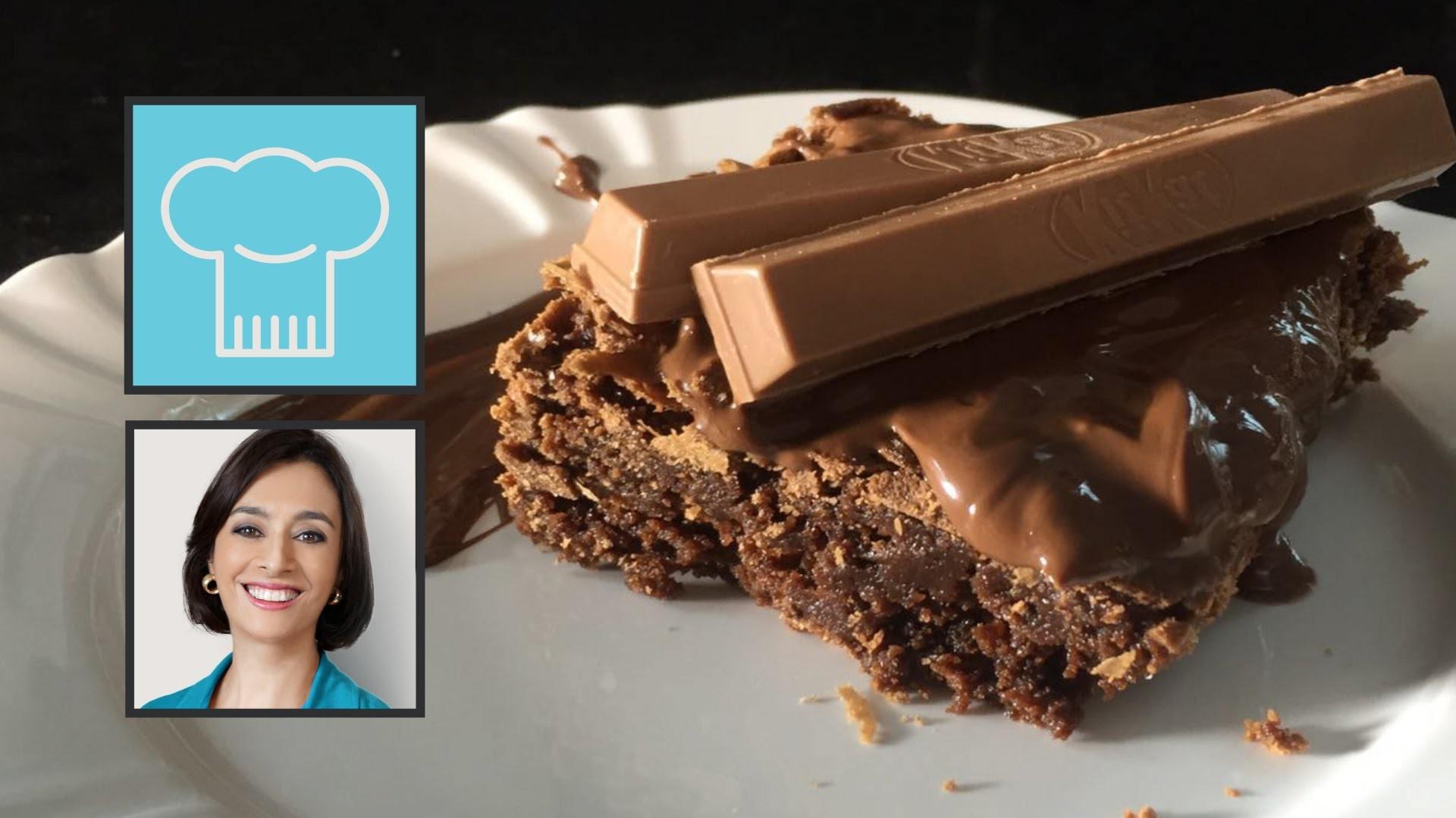 TV Catia Fonseca: Brownie KIT KAT