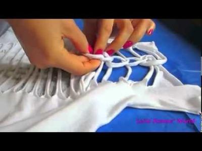 Aprenda fazer uma camiseta customizada para o carnaval