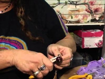 Artesa ensina a fazer um colar com capim dourado No Amazon Shop