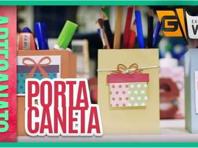 Artesanato na web: Porta-Caneta