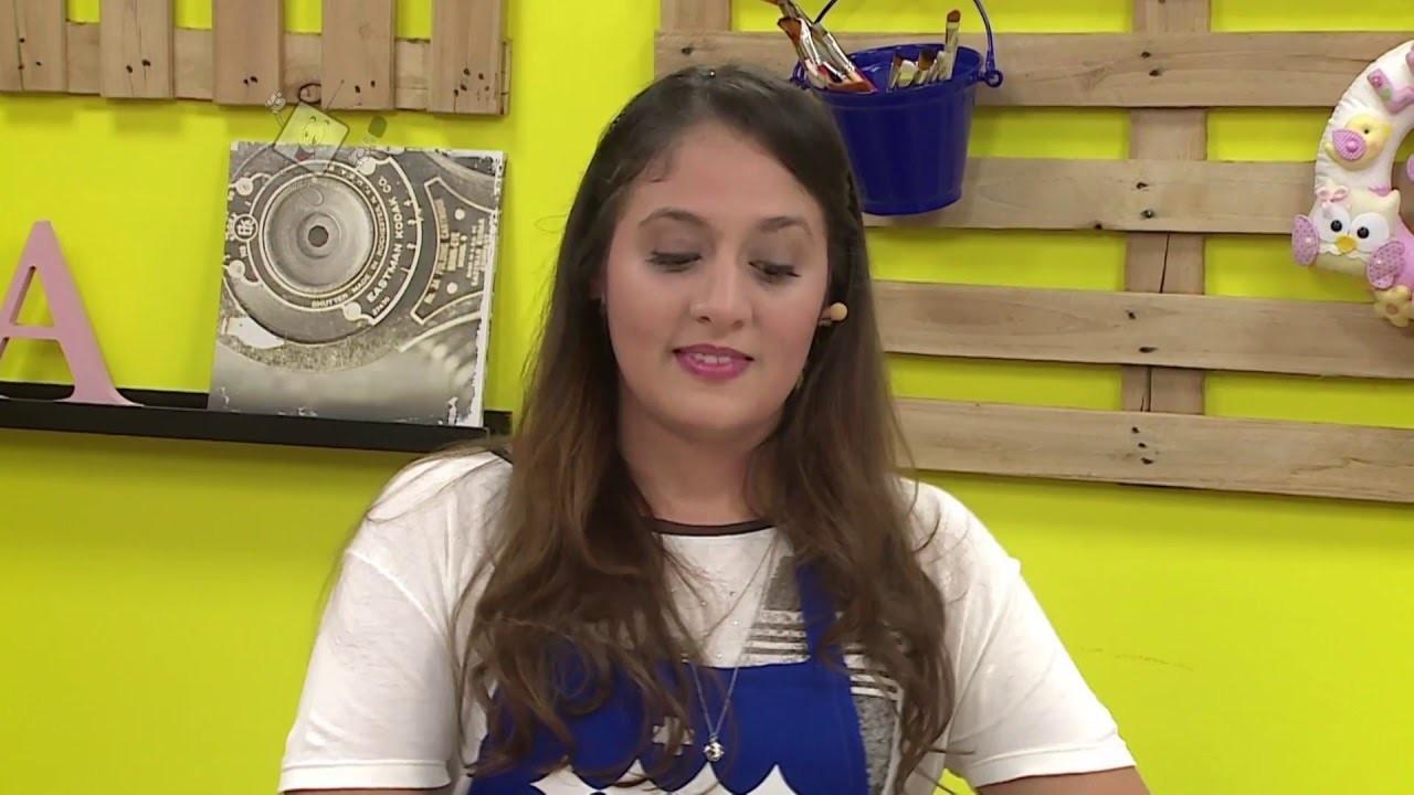 Ateliê na TV - Rede Brasil - 12.04.16 - Fábia Marchetti e Daniella Alves
