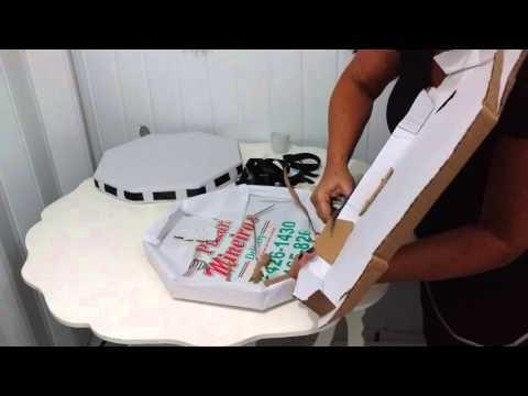 Aula 50 - Como fazer bandejas com caixas de pizza