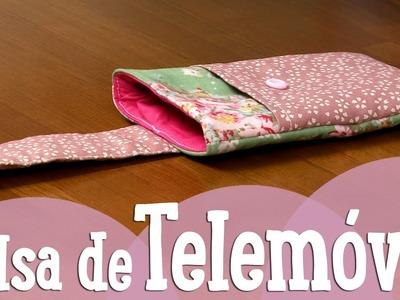 Bolsa de Telemóvel - CosturaComigo