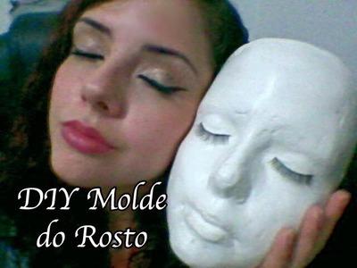 Como fazer um molde do rosto em gesso!