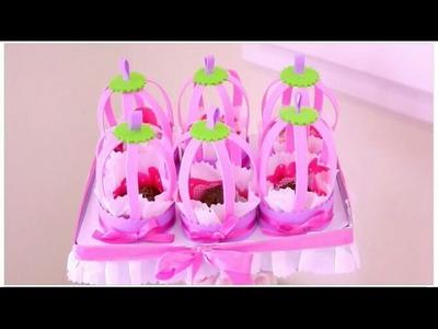 Decoração para Festa Infantil - Lembrancinha - Gaiola