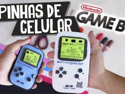 DIY Case Iphone | Capinha de celular estilo GameBoy | Aprenda com Edu