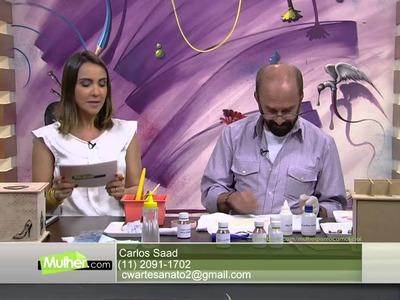 Mulher.com - 01.02.2016 - Porta joia triplo - Carlos Saad PT2