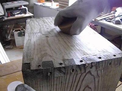 Tratamento e impermeabilização natural de madeiras I.
