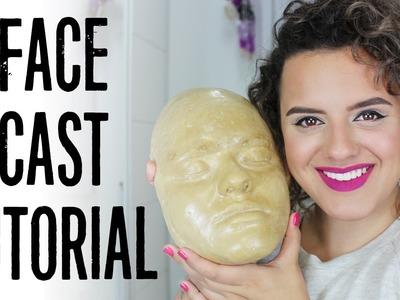 Tutorial - Como fazer um Face Cast (molde do rosto) | LoChurchMakeUp