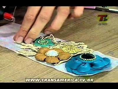 Tv Transamérica - Cinto de Viscolycra