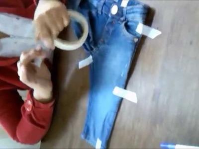 Vídeo aula 8 - Parte 1.3 - Como tirar molde de roupa pronta.