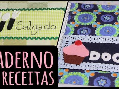 Caderno de Receitas Duplo =DiY | Dany Martinês