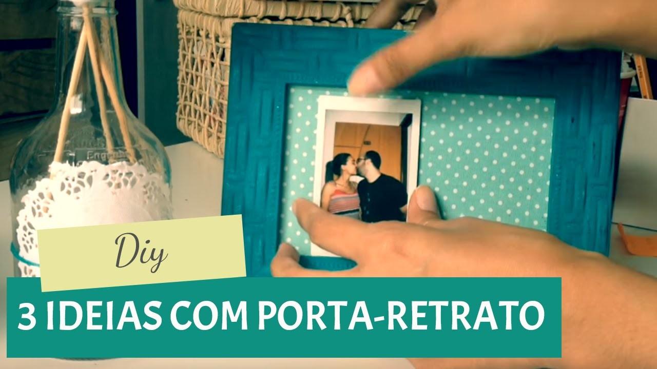DIY: 3 formas criativas de usar porta-retrato