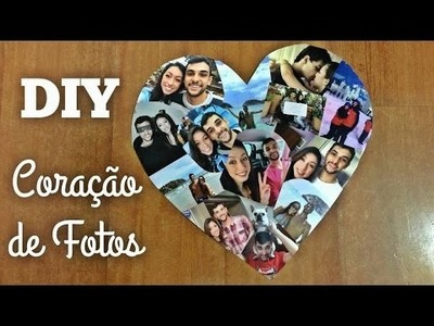 DIY Coração de fotos | Fácil