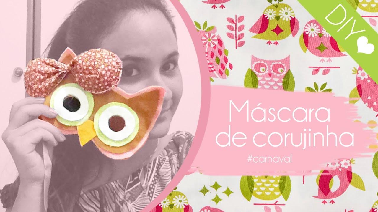 DIY: Máscara de Corujinha